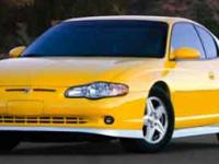 Options:  2004 Chevrolet Monte Carlo Ss|Miles: