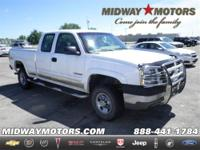 4WD. White Knight! Extended Cab! Confused about which