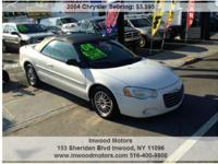 INWOODMOTORS.COM 2004 CHRYSLER SEBRING LXI CONVERTIBLE