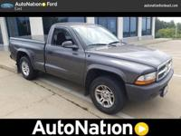 This 2004 Dodge Dakota has a CARFAX Buyback Guarantee,