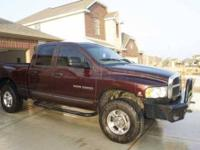 2004 Dodge Ram in Excellent Condition Marroon and Red