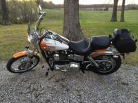 2004 Dyna Wide Glide (FXDWGI)- 4,800 miles, Bomber