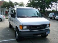 Very Clean and Well Maintained Ford 2004 E250 Cargo Van