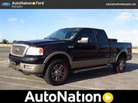 2004 FORD F150 SUPERCREW. LARIAT EDITION. 4 WHEEL