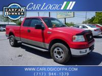2004 Ford F150 XLT SuperCab. 4x4. 1 Owner, no