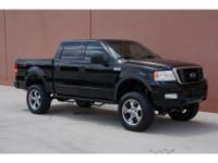 2004 Ford F150 FX4 Off Road Lifted 5.4L 4x4 Crew Cab.