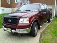 2004 Ford F150 XLT Super King Cab This work truck has