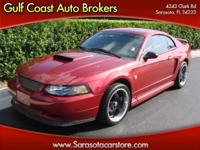 Options Included: N/A2004 FORD MUSTANG COUPE! 5 SPEED!