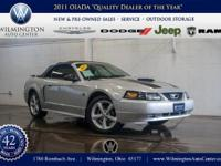 2004 Ford Mustang with only 43,843 miles, t You'll see