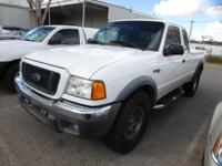 Options:  2004 Ford Ranger|Super Cab Pickup 4X4|Thank
