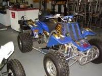 Yamaha banshee fast fast fast its an '04 and was