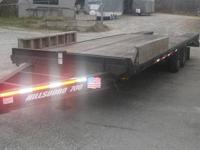 This is an extremely heavy Duty trailer for it's weight