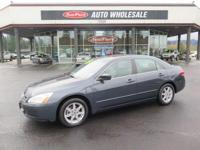 Sturdy and dependable, this Used 2004 Honda Accord EX