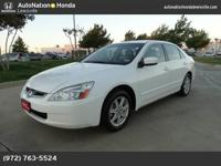 This 2004 Honda Accord Sdn EX is offered to you for