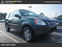 A 2004 Honda CR-V EX 1 Owner! WOW 4-Cyl, VTEC, 2.4