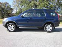 2004 HONDA CR-V LX! FL CAR! AUTOMATIC! 2.4L L4 PFI