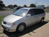 Very well maintained 2004 Honda Odyssey with 140,000