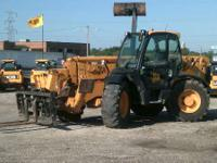 2004 JCB  JCB 550-140 Telehandler Cab with Heat Block