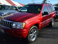 2004 JEEP GRAND CHEROKEE @@ TOP OF THE LINE LIMITED 4X4