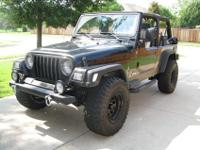 Jeep 2004 Wrangler in perfect condition. Needs nothing