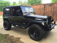 Selling my 2004 Jeep Wrangler Limited with only 92K