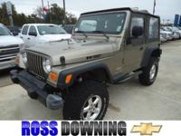 Options Included: N/ALEATHER SEATS!! This 2004 Jeep