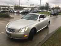 We are excited to offer this 2004 Lexus SC 430. When