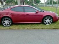 2004 Red Grand Prix $3450 CASH. Good looking car! has