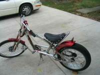 2002 Schwinn Stingray Orange County Chopper Bike-Model