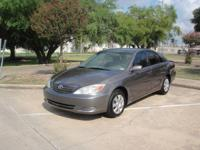 2004 TOYOTA CAMRY LE , HAS 242 K MILES ON IT, HWY