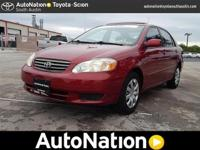This exceptional example of a 2004 Toyota Corolla LE is