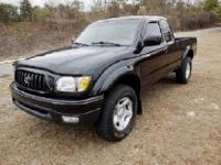 FOR SALE IS A 2004 BLACK SAND ON OAK TOYOTA TACOMA SR5