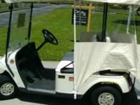 This is a 2005/06 EZGO golf cart that is in great