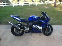 2005/06 Yamaha R6, very good condition, i have never