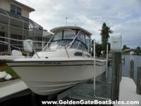 2005, 22' GRADY WHITE 228 Seafarer Single Gas YAMAHA