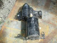this is a secondhand starter off of a 2005 evinrude 250