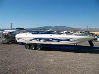 Nice! Cat Hull, 680 HP 540 Merlin BB Chevy, Bravo Drive