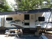 Stock Number: 721162. 30 foot travel trailer. Front