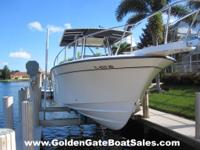 2005, 30' GRADY WHITE 306 BIMINI Twin Gas YAMAHA 225HP