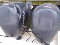2005 300hp HPDI 2 Stroke Yamaha Outboard Engines,