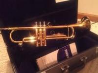 I have a 2005 yamaha, gold trumpet that was used for