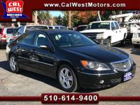 Luxurious and Sporty Acura RL SH-AWD. All-Wheel Drive!