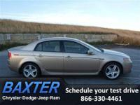 2005 Acura TL 4dr Car BASE Our Location is: Baxter