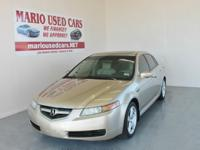 This is an incredibly clean 2005 Acura TL Automatic