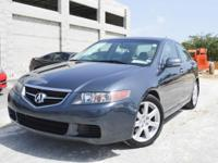 Looking for a first car if so this 2005 Acura TSX is