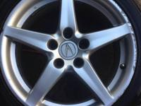 2005 Acura type s wheels & tires new tires 215/45/r17