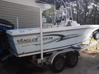 2005 Angler 204FX. 2005 Angler 204FX model in great
