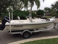 2005 Angler 173. Included in the sale is a 2010 Magic
