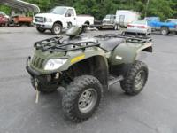 VIN:4 UF05ATV25T214551 - Clean Title. 2005 Arctic Cat