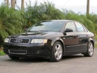 2005 AUDI A4 1.8 TURBO, AUTO, ICE COLD A/C, FULLY